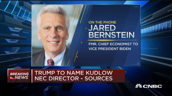 Kudlow announcement could come as soon as tomorrow