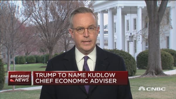 Here are some challenges for Larry Kudlow as incoming NEC chair