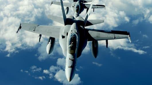 U.S. Marine Corps F/A-18 Hornet