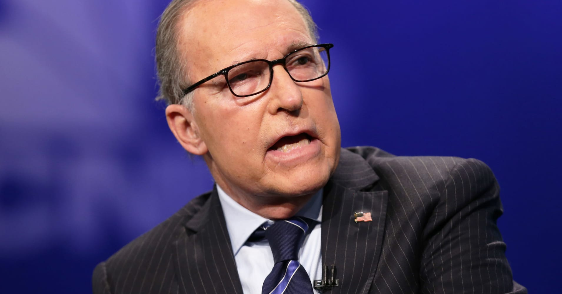 Kudlow says White House looking at infrastructure plan, including energy pipelines, LNG terminals