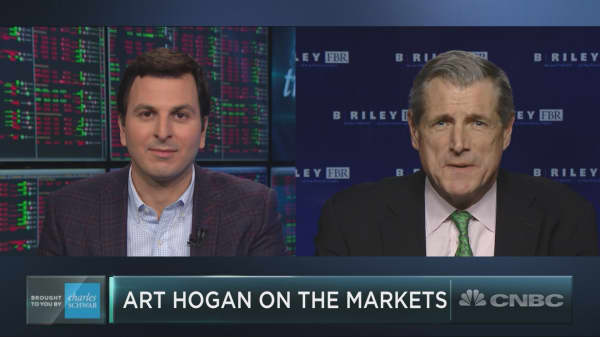 Strategist Art Hogan on stocks, Larry Kudlow's appointment and more