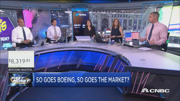 So goes Boeing, so goes the market?