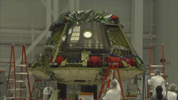 Boeing one step closer to launch spacecraft