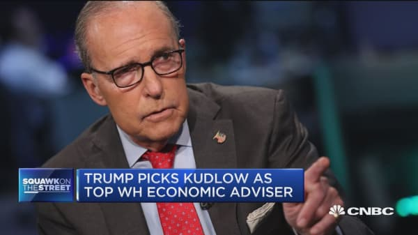 Kudlow is about cutting taxes to grow economy, says Jim Cramer