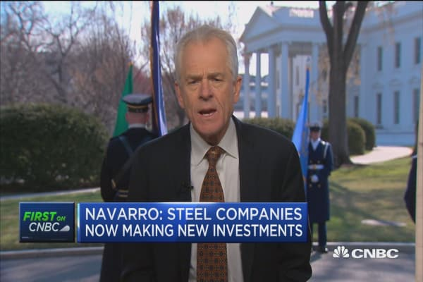Peter Navarro talks trade and tariffs