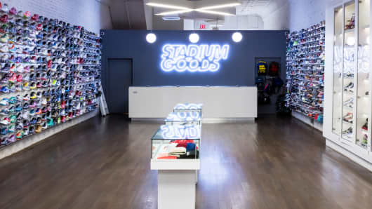 b4cbc0c08 Nordstrom to partner with sneaker marketplace Stadium Goods at its  stand-alone men s store
