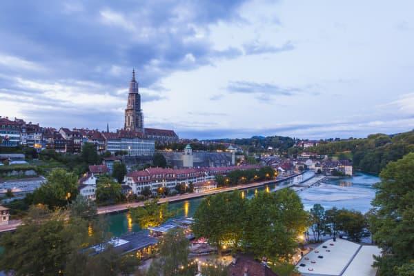 Die Schweizer Hauptstadt Bern