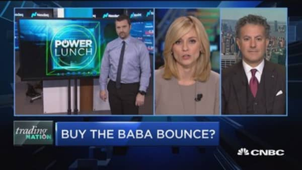 Trading Nation: Buy the BABA bounce?