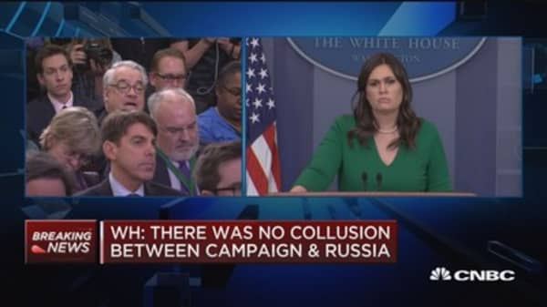 White House: President has been extremely tough on Russia