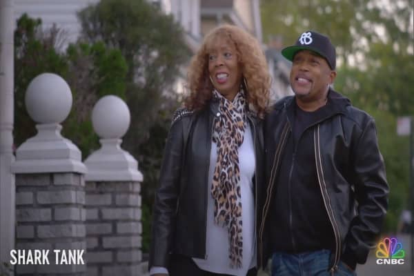 Daymond John's successful career comes with a little help from his mom