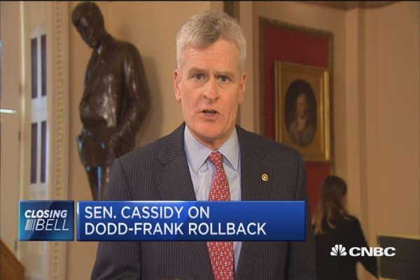 Sen. Bill Cassidy: Dodd-Frank rollback will help community banks