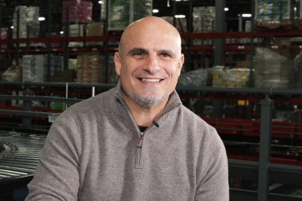 Rick Zumpano, vice president of distribution at Boxed