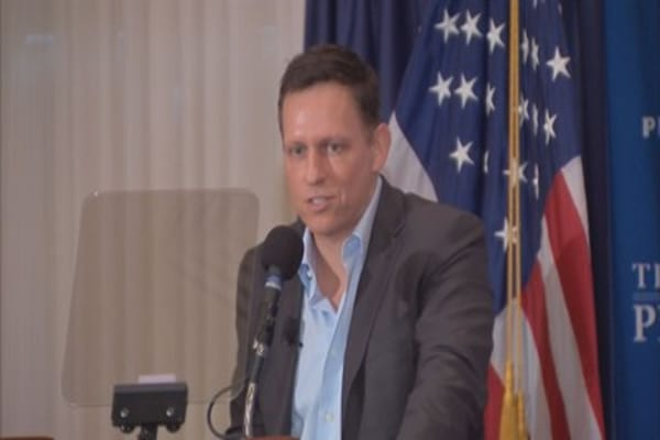 Thiel says most of his money to Bay Area start-ups goes to landlords or 'urban slumlords' | CNBC