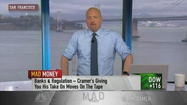 Cramer says Republican-led Dodd-Frank rollback could lead to job cuts