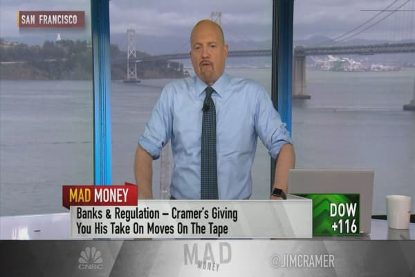 Cramer says Republican-led Dodd-Frank rollback could lead to job cuts