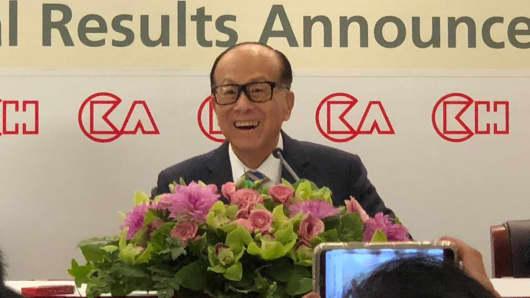 Hong Kong tycoon Li Ka-shing announced his retirement on March 16, 2018.