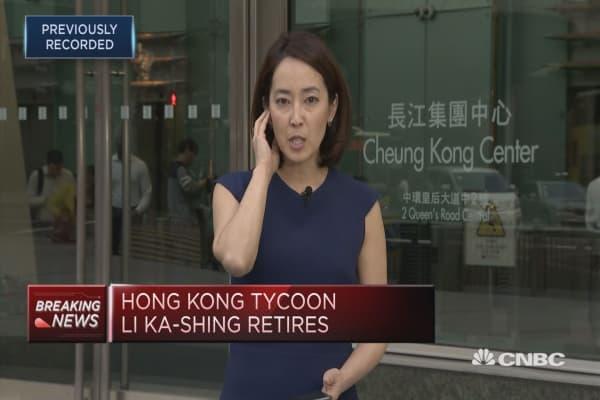 Hong Kong tycoon Li Ka-shing retires | CNBC