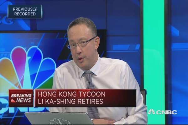 Li Ka-shing to remain a senior advisor at CK Hutchinson | CNBC