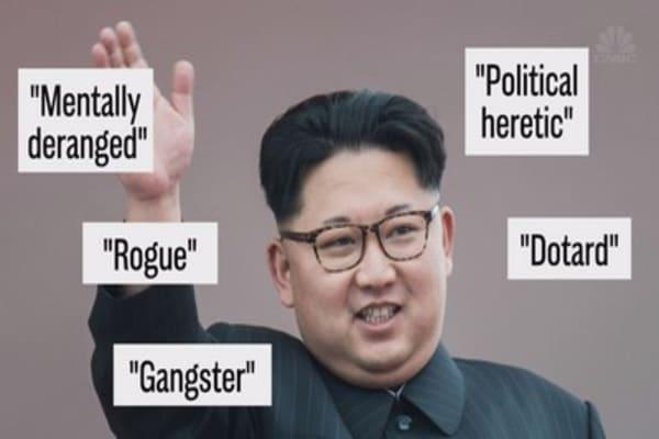 Trump and Kim Jong Un's War of the Words