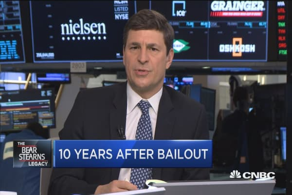 10-years after Bear Stearns' bailout