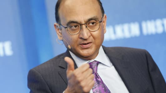 Vasant Prabhu, chief financial officer of Visa Inc.