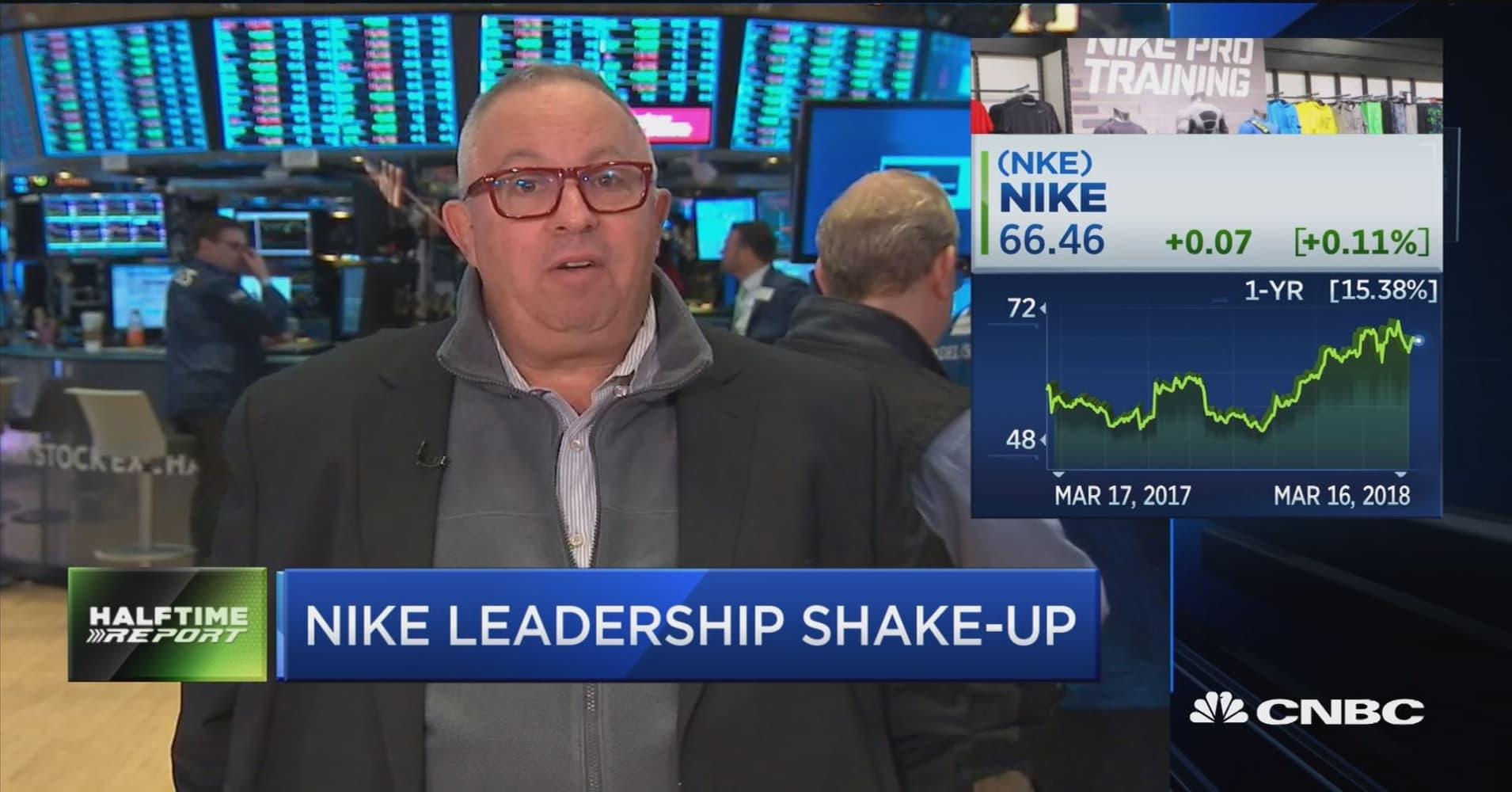 Swift reshuffling at Nike is cause for concern says analyst