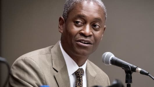 Raphael Bostic, president and chief executive officer of the Federal Reserve Bank of Atlanta.