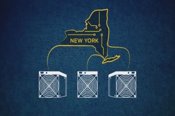 Bitcoin mining firms getting pushback from New York State