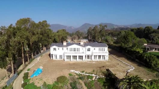 Malibu, CA home sold for $44 million.