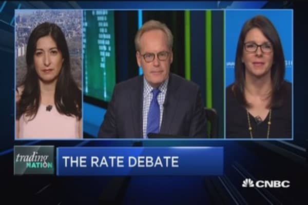 Trading Nation: Rates on the rise