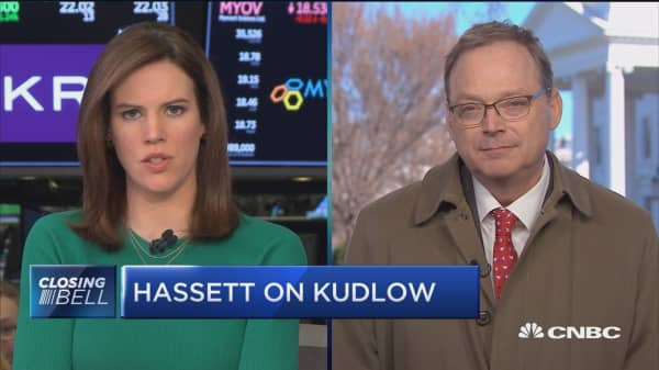 CEA Chair Kevin Hassett: President is very serious about phase two of tax reform