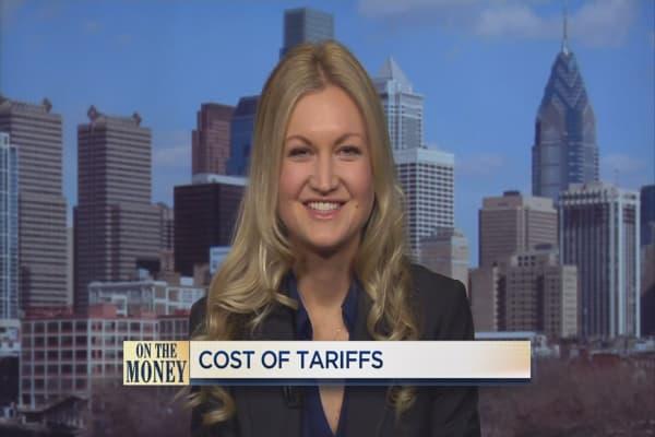 Cost of tariffs