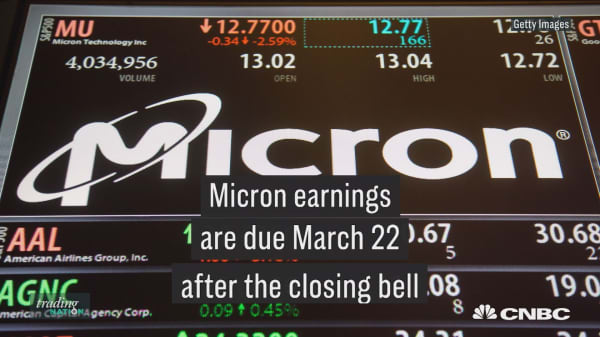 Micron, up 50% this year, could see a huge swing on upcoming earnings