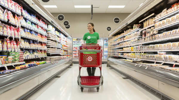 Shares Of Target And Kroger Jump On Report Of Possible Merger Talks