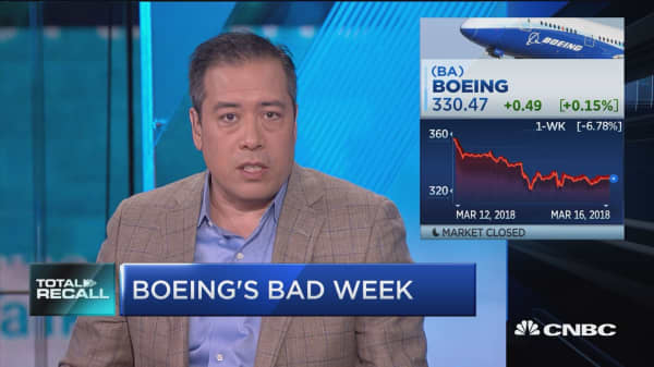 Boeing's worst week in over 2 years