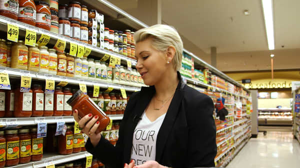 Olivia June said you have to check labels while shopping for the diet to make sure there is no added sugar.