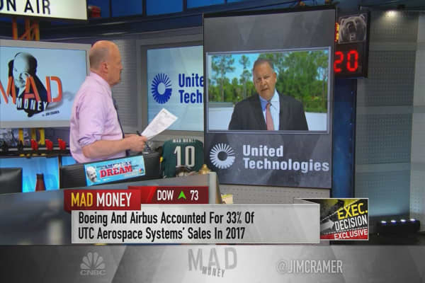 UTX CEO: Tit-for-tat tariff battle would be problem for Boeing