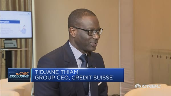 Credit Suisse's CEO on the company's restructuring efforts