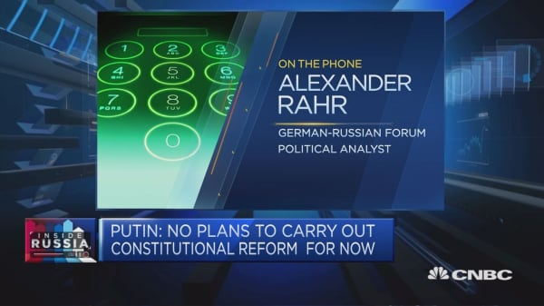 Putin has to change after election success, analyst says