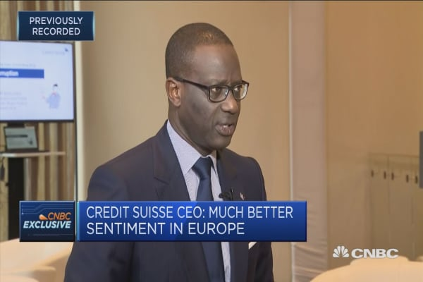 Credit Suisse CEO: My entire career I've bet on China
