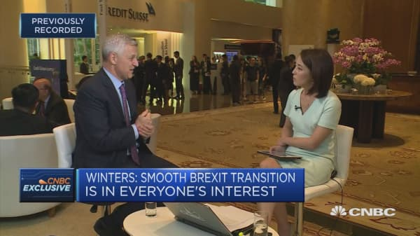 Brexit transition is in everyone's best interest: Standard Chartered CEO