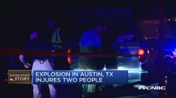 Austin in lockdown after bomb blast