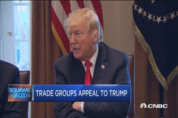 Trade and tariffs front and center in Washington this week