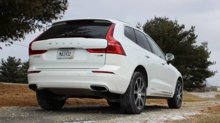 The refined back of the Volvo Xc60