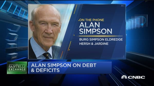 Santelli Exchange: Alan Simpson on the looming government shutdown
