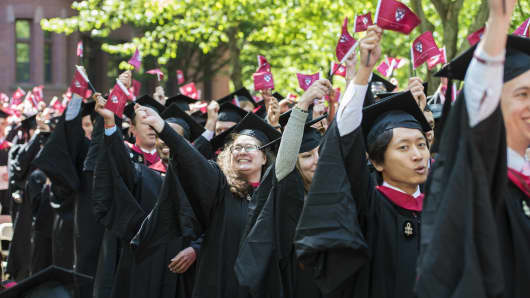 Harvard Business School Graduation Ceremony