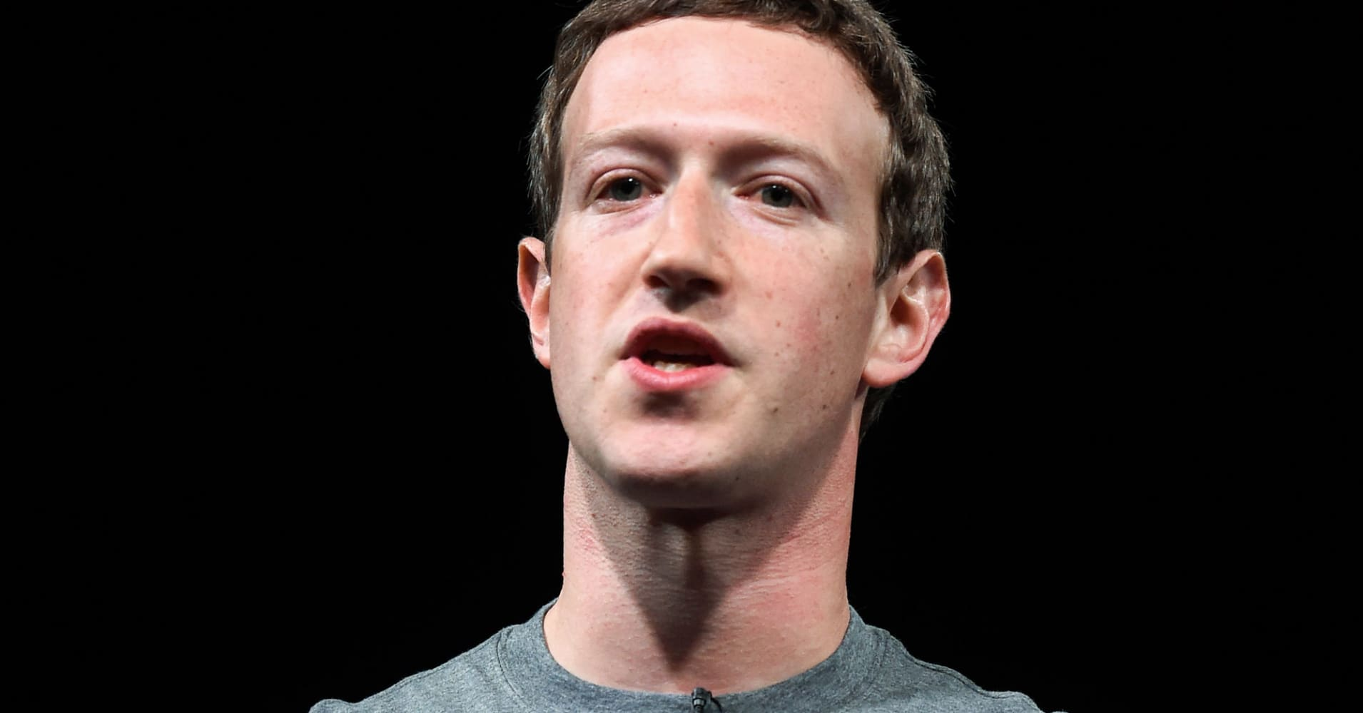 Facebook drops after report that...