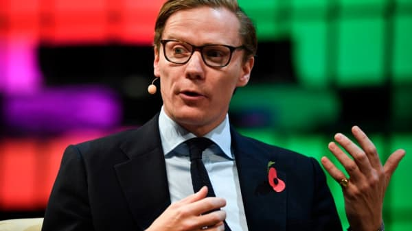 Cambridge Analytica's chief executive officer Alexander Nix.