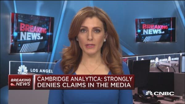 Cambridge Analytica: Strongly denies claims in the media