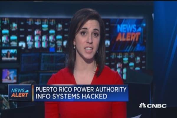Puerto Rico power authority suffers cyber attack